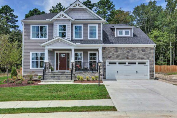 Model home in Glen Allen VA